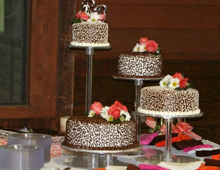 Chocolate Wedding Cake Wedding Cakes Gallery