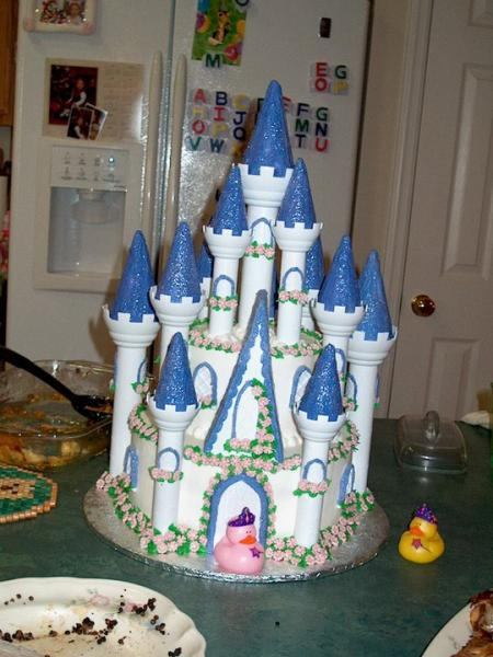Every little princess loves her castle.
